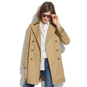 Madewell Wander Trench Coat